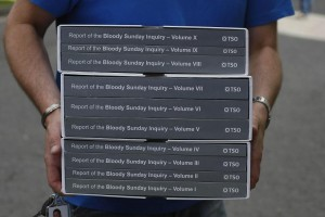 10 - the number of printed volumes of the findings of Saville's inquiry.